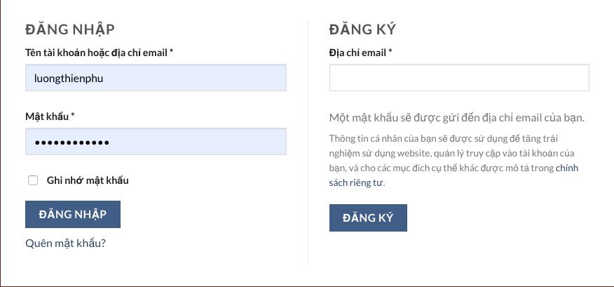 Đăng ký tài khoản tại https://thuochay.top