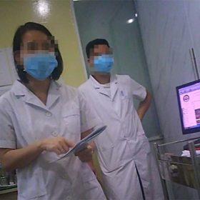 Chưa được sự đồng ý của bệnh nhân, Phòng khám Đa khoa Hoàn Cầu vẫn tự ý thực hiện tiểu phẫu và ép bệnh nhân ký vào hoá đơn thanh toán ngay trên giường mổ. Vẽ bệnh moi tiền bệnh nhân.