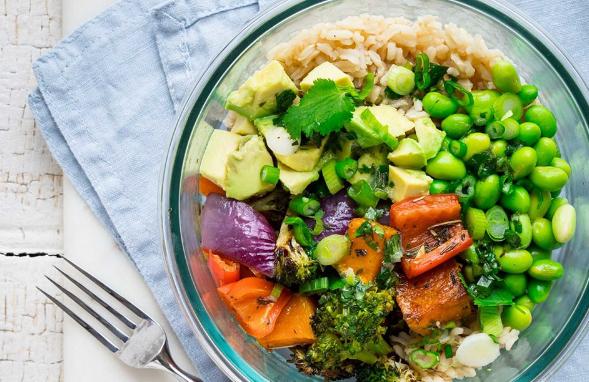 Thực phẩm chay đa dạng các loại rau củ quả