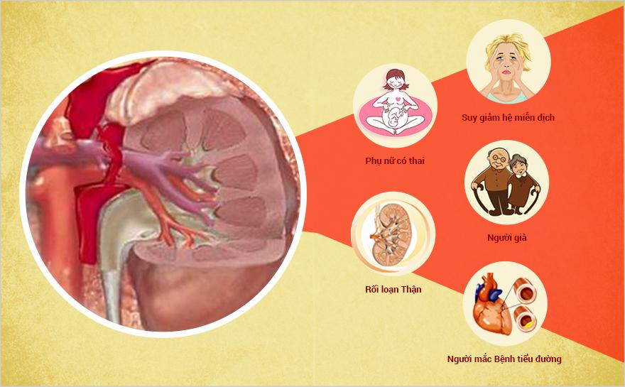 Biến chứng bệnh Viêm đường tiết niệu
