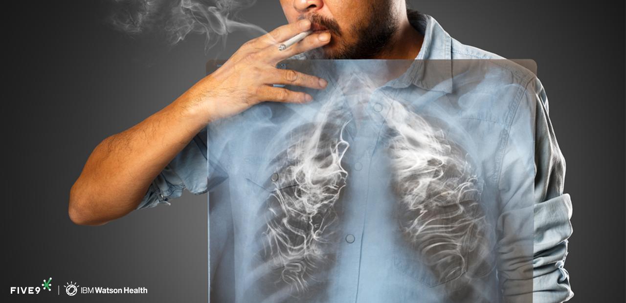 Hút thuốc là nguyên nhân chính dẫn đến Ung Thư Phổi