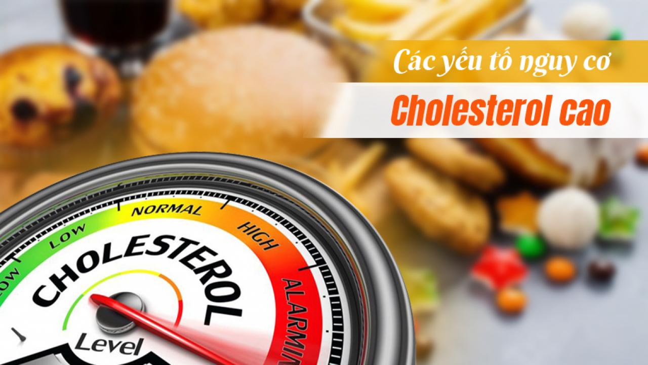 Các yếu tố nguy cơ gây cholesterol cao